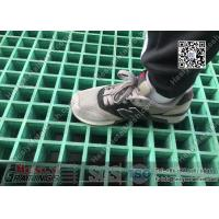 Buy cheap 38mm THK Green Color Glassfiber Molded Grating Panel ( L2 standard / USCG certificated) | China FRP Grating Factory from wholesalers