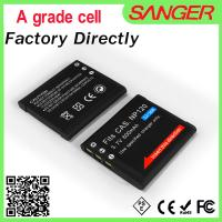Buy cheap OEM rechargeable digital camera battery for casio CNP120 from wholesalers