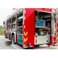 Buy cheap Capacity 300kg Dry Powder Airport Fire Truck Engine Power 440kw For Fire Rescue from wholesalers