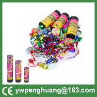 Buy cheap spring driven party popper  confetti shoot  party cannon paper confetti streamer from wholesalers