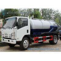 Buy cheap ISUZU 700P 4x2 190hp Vacuum Tank Truck 10000L Q345 ISO / CCC from wholesalers