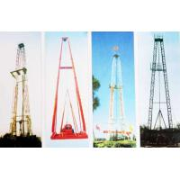 Buy cheap Vertical Shaft Core Drilling Rig Mast / Straight And Slanting Drill Tower from wholesalers