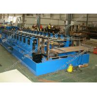 Buy cheap Automatic Sheet Metal Forming Machine , Goods Shelves Steel Frame Roll Forming Machine from wholesalers