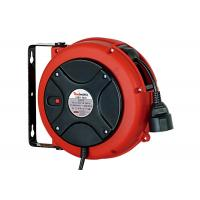 Buy cheap Lightweight 3 Core Retractable Electric Cord Reel , 0.9 Meter Lead In Cable from wholesalers