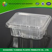Buy cheap Disposable transparent pet Food Blister Packaging Approved  FDA from wholesalers
