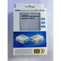 Buy cheap HDMI Audio Extractor 4Kx2K 3D SPDIF L/R Support HDMI 1.4 and DHCP 1.4 from wholesalers