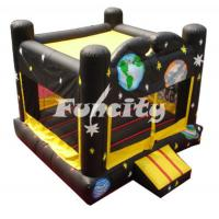 Buy cheap Safety Space Planet Inflatable Toddler Inflatable Bouncer With Customizable Logo from wholesalers