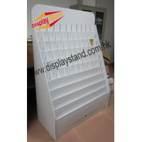 Buy cheap white Cardboard Floor Display Stands / Fashion Store Displays from wholesalers