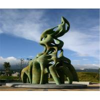 Buy cheap Large Outdoor Bronze Sculpture Handmade Casting Finish For Plaza Decoration from wholesalers