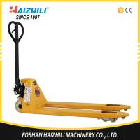 Buy cheap Haizhili China Hot Sale DF pump 550mm 2.5 ton hand pallet jack with CE and ISO Certificate from wholesalers