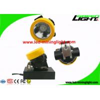 Buy cheap Explosion Proof Fire Retardant 5000Lux Coal Miners Helmet Light for Opening Pit Outdoor from wholesalers