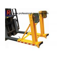 Buy cheap CE Warehouse Material Handling Equipment Single Drum Grab Forklift Attachment 360 * 2 Capacity from wholesalers