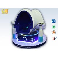 Buy cheap Blue And White VR Simulator Chair, Double Seats Vr Egg Chair With Servo Motor from wholesalers