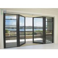 Buy cheap Soundproof Glass Double Outswing Exterior Door Powder Coating Finished from wholesalers