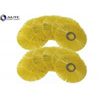 Buy cheap Wafer Snow Sweeper Brush Flat Style Polypropylene Filament Plastic Steel Inner Ring from wholesalers