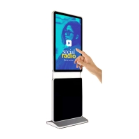 Buy cheap 49 inch full HD mobile digital signage indoor advertising led tv digital led signs display from wholesalers