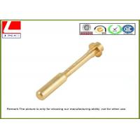 Buy cheap Professional Precise High Speed Brass Shaft NC Machining Parts from wholesalers