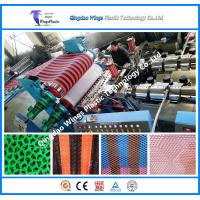 Buy cheap Plastic PVC Floor Sheet Extruder Machine PVC Anti Slip Flooring Mat Production Line from wholesalers