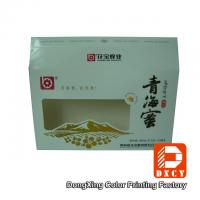 Buy cheap Eco Food Packaging Fold Paper Box Hot Foil Stamping With Open Window from wholesalers