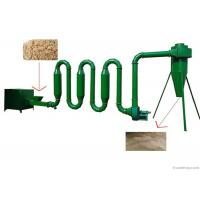 Buy cheap Air Sawdust Dryer Machine Biomass Wood Chip Drying Equipment 400 - 500 KG from wholesalers