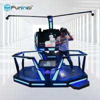 Buy cheap VR Walker 360 Treadmill Virtual Reality , Custom Multi Directional Treadmill from wholesalers
