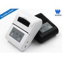 Buy cheap White Irda Portable Thermal Printer Bluetooth Android For Clinical Analyzer from Wholesalers