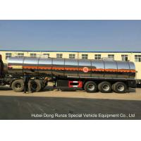 Buy cheap SS Chemical Tanker Truck For Ammonium Nitrate / Liquid Molten Sulfur Delivery from wholesalers