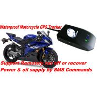 Buy cheap Waterproof Motorcycle Mini GSM SMS GPRS GPS Tracker Locator W/ Cut-off Oil & Power By SMS product