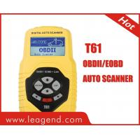Buy cheap Multilingual CAN OBD2 & EOBD code scanner for European Cars-T61 from wholesalers
