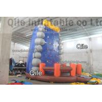 Buy cheap Gaint Red Inflatable Rock Climbing Mountain , Inflatable Amusement Park from wholesalers