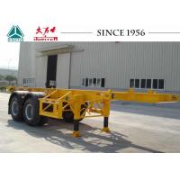 Buy cheap Long Lifespan Container Chassis Trailer 20 FT 2 Axle For Container Port from wholesalers