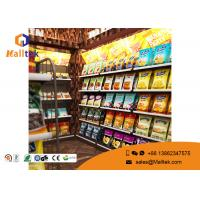 Buy cheap Custom Double Sided Grocery Display Stand Racks Retail Store  Shelving Supermarket Shelf product