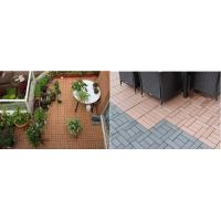 Buy cheap Easy install DIY wpc decking wpc diy decking tiles for balcony wpc board from wholesalers