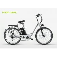"""Buy cheap Cruiser style electric city bike 250W electric assist bicycle with 26""""X1.95 tire from wholesalers"""