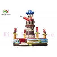Buy cheap Adventuring Pirate Inflatable Rock Climbing Wall PVC Tropic Taste Blow Up Sports Games from wholesalers