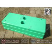 Buy cheap Light Green Temporary Fencing Block Injection Molding | China Temp Fencing Block Factory from wholesalers