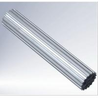 Grey T5 / T6 Aluminium Hollow Profile With Milling 1000mm ISO Certification