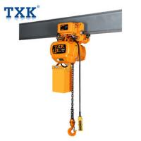 Buy cheap Construction Machinery Electric chain hoist import Japanese G80 Chain with Monorail Trolley from wholesalers