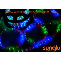 Buy cheap Round F3 Dimmable Flexible LED Rope Lights , RGB Color Changing LED Rope Lights from wholesalers