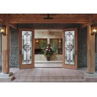 Buy cheap pearly l Art Glass Panels Thermal Sound Insulation  handcrafted  vogue Timeless design from wholesalers