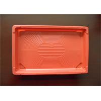 Buy cheap Customized Size PS Foam Tray , No Harm Plastic Trays For Food Keep Cleanness from wholesalers