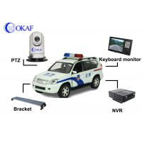 Buy cheap High Defination Vehicle PTZ Camera , Infrared Dome IP Camera PTZ Auto Tracking  from wholesalers