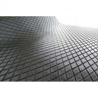 Buy cheap Black Industrial Checker Rubber Sheet , Round Button Diamond Rubber Sheet from wholesalers