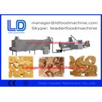 Buy cheap Textured Vegetarian Soy Nuggets Protein Processing Line / Soya Bean Extrude Machine from wholesalers