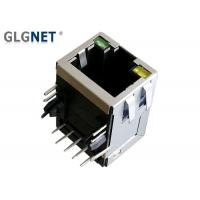 Buy cheap Black Shielded RJ45 Magnetic Modular Jack  1 X 1 Single Port For IP Cameras from wholesalers