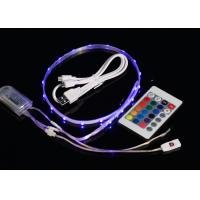 Buy cheap USB 3.7V Rechargeable Waterproof Led Strip Lights With Remote Control from wholesalers
