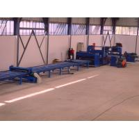 Buy cheap Standard cut to length line , hot rolled mild steel light pole machine for 6m 8m 14m from wholesalers