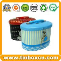Buy cheap Saving Tin Box,Tin Saving Box,Tin Coin Bank,Tin with Lock from wholesalers