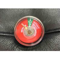 Buy cheap Easy Use Small Fire Extinguisher Parts , JQ0802 Pressure Gauge For Fire Extinguisher product