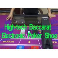 Buy cheap Baccarat Electronic Poker Shoe System Playing Card Dealer Shoe Automatic Card Shuffler from wholesalers